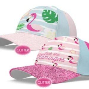 Boné_flamingos_glitter