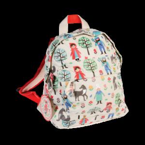 mochila creche infantario capuchinho vermelho