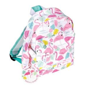 mochila infantario flamingo